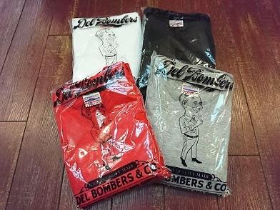 デルボマーズ&Co. 2パックTシャツ!!