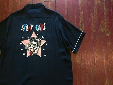 ストレイキャッツのボーリングシャツ!!